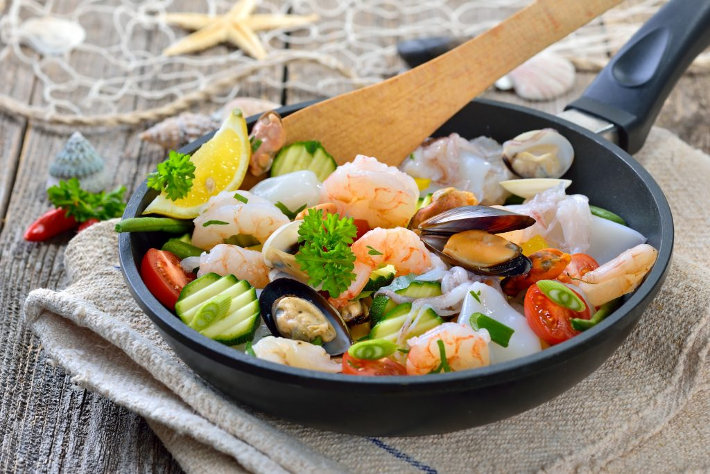 Hauptbestandteile der Mittelmeerküche