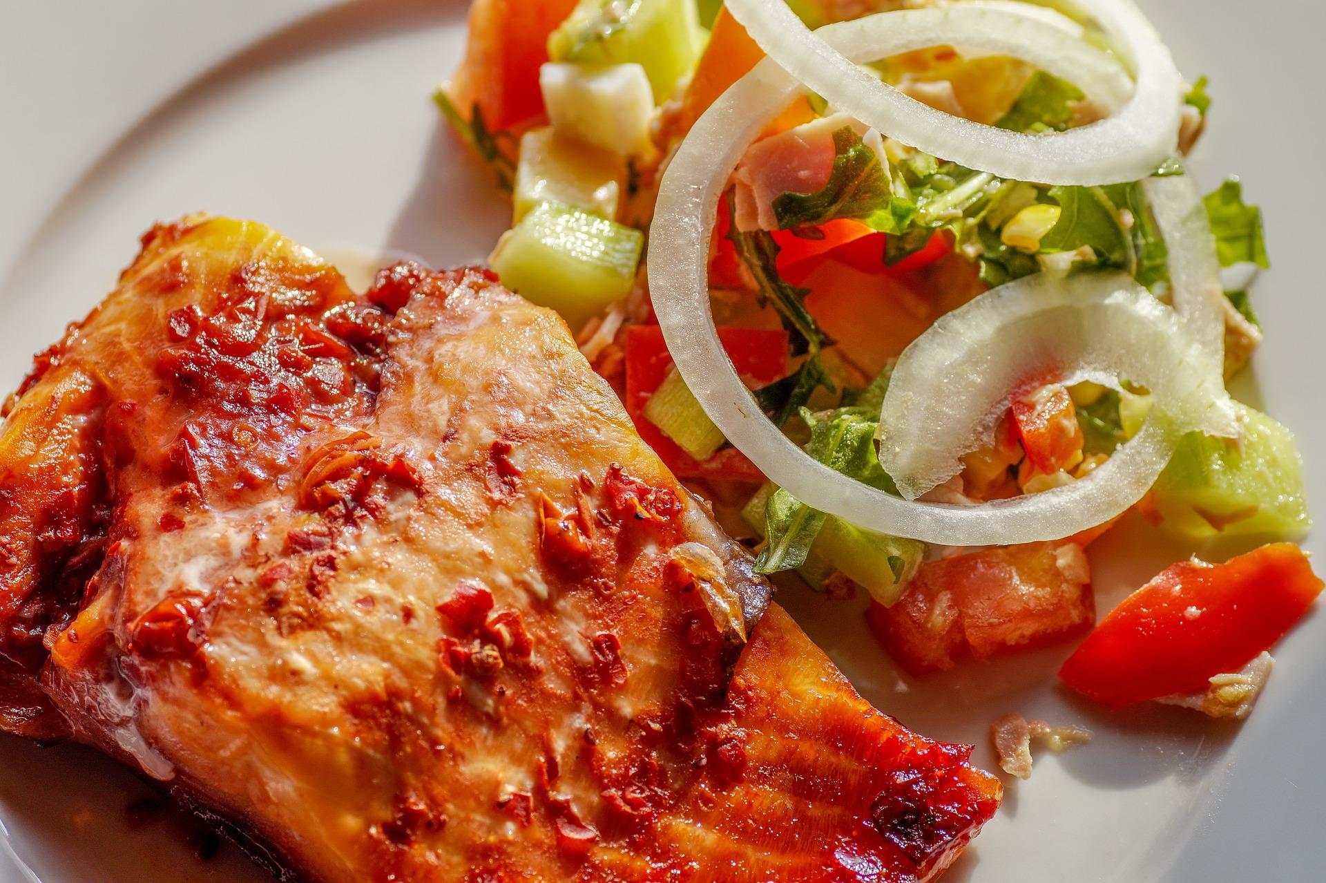 Kalorien sparen beim Abendessen